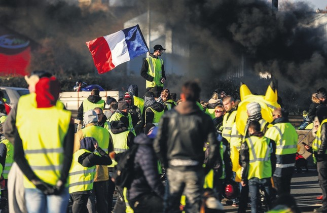 A 'yellow vest uprising' in France? Then what?