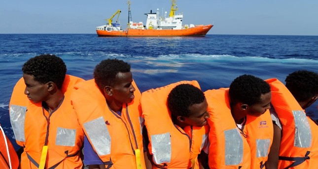 Migrant rescue ship stranded again as Italy refuses safe harbor