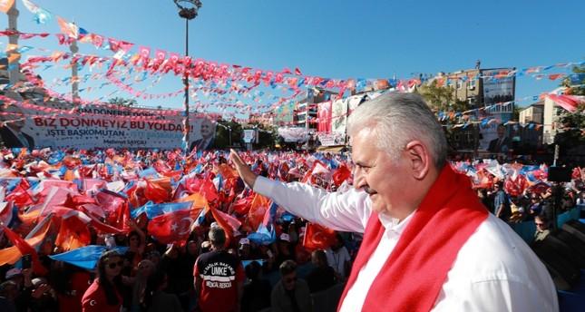 يلدريم: الانتخابات القادمة ستكتب تاريخاً جديداً لتركيا