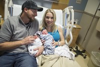 Parents welcome twins into the world in different years