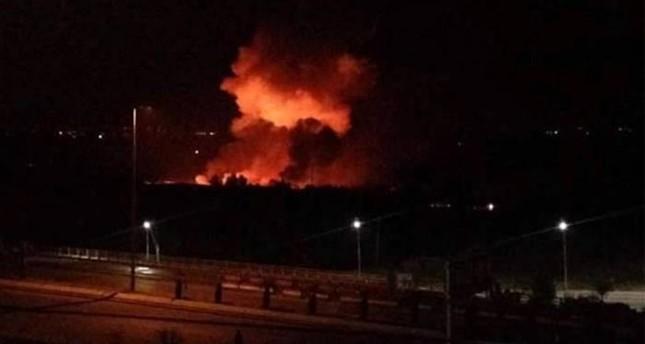 قتيلان في انفجارات مطار المزة العسكري قرب دمشق