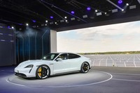 Porsche launches production of its all-electric SUV