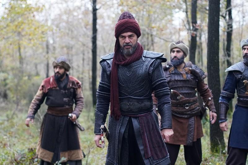 A scene from popular Turkish TV series Resurrection Ertuu011frul.