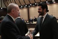 President Erdoğan meets with cinema sector representatives