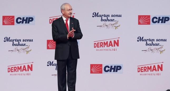 CHP Chairman Kemal Kılıçdaroğlu. (AA Photo)