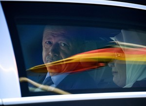President Erdoğan begins state visit in Germany
