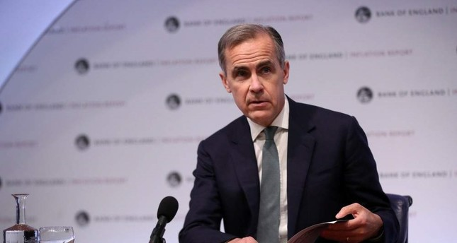 The Governor of the Bank of England Mark Carney speaks during a news conference, London, U.K., Feb. 7, 2019. Reuters Photo