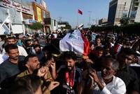Iraqi police: 3 protesters killed in Iran Consulate attack