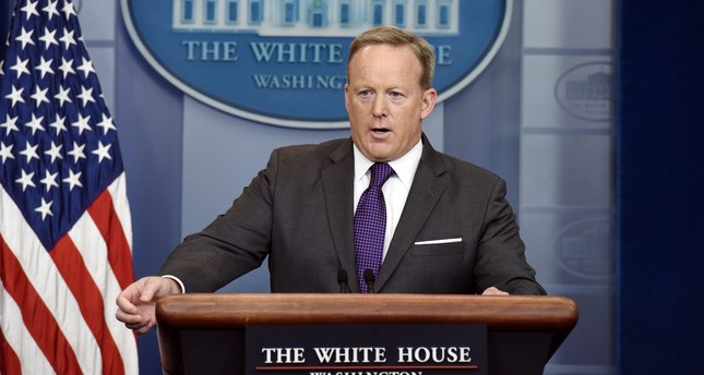 Sean Spicer resigns as White House spokesman