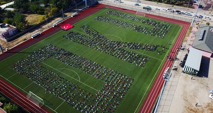 pAround 2,000 students came together at a stadium in Turkey's southeastern province of Batman to read books to show Batman reads everywhere and promote the love of reading./p  pThe students then...