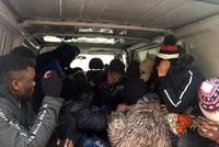 More than 300 irregular migrants held in western Turkey