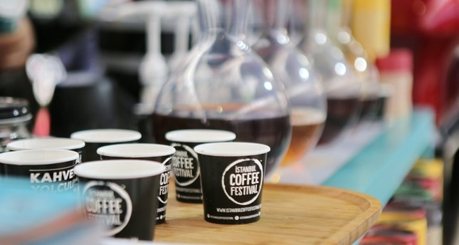 "The theme of this year's Istanbul Coffee Festival, which will continue until Sunday, is ""The life cycle of coffee."""