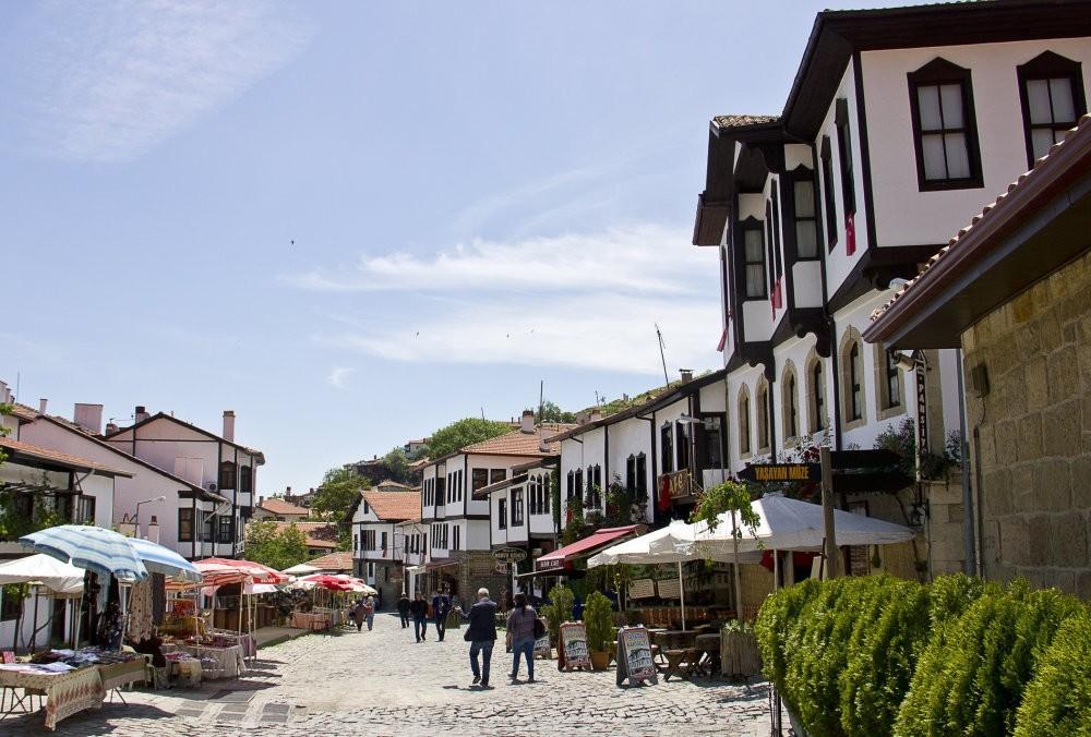 Beypazaru0131u2019s city center still preserves the spirit of the Ottoman era with its unique architecture.