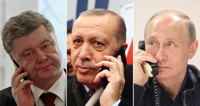 Эрдоган обсудил события в Керченском проливе с Путиным, Трампом и Порошенко