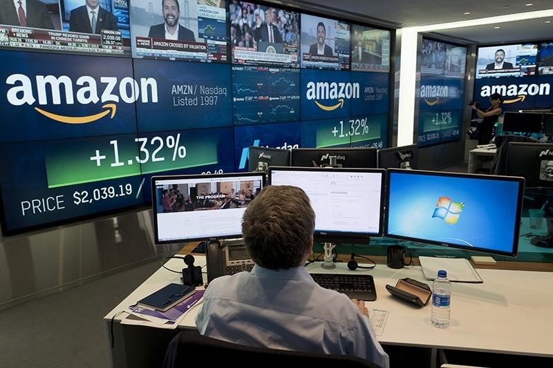 In this Sept. 4, 2018, file photo a Nasdaq employee monitors market activity in New York. (AP Photo)