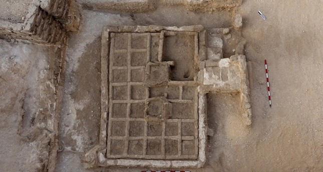 A handout picture released by the Egyptian Ministry of Antiquities on May 3, 2017, shows the remains of a nearly 4,000 year old model garden following its discovery at the Draa Abul Nagaa necropolis on the west bank of the Nile River (AFP Photo)