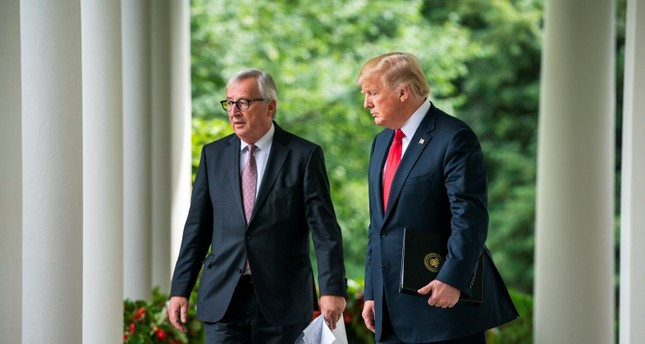 ترامب مستقبلا المدير العام لمنظمة التجارة العالمية (EPA)