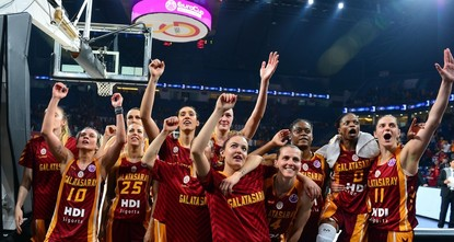 Galatasaray women one step away from EuroCup basketball title