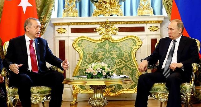 أردوغان يلتقي بوتين في الثالث من الشهر المقبل