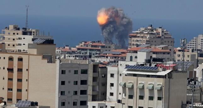 غارات إسرائيلية جديدة على موقع تابع لحماس جنوبي قطاع غزة