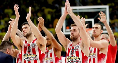 pGreece's Olympiakos advanced to the 2017 Turkish Airlines Euroleague final after beating title-holders CSKA Moscow 82-78 on Friday./p