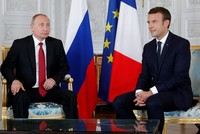 Macron says he is 'the equal' to Russia's Putin