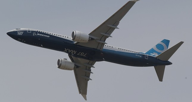 A Boing 737 MAX 9 performs his demonstration flight at Paris Air Show, in Le Bourget, east of Paris, France, Tuesday, June 20, 2017 in Paris. (AP Photo)