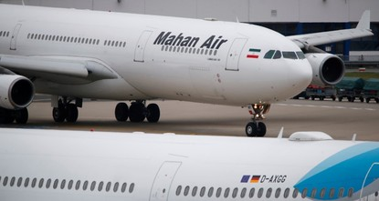 Germany sanctions Iranian airline Mahan Air over spying claims