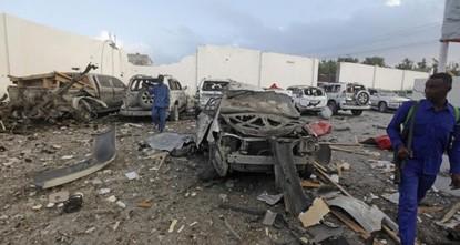 هجوم انتحاري يستهدف مركزا عسكريا للحكومة الصومالية جنوب البلاد