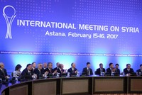 The value added of Astana talks on Syria