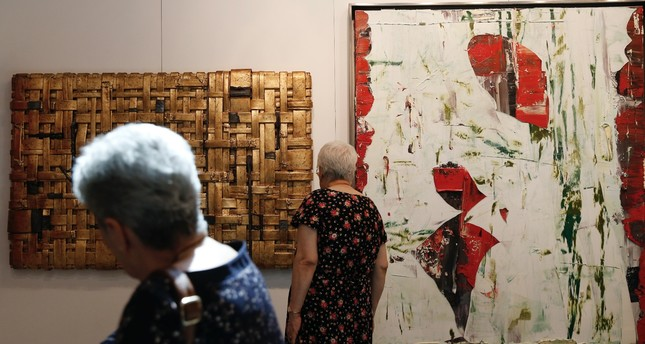 Contemporary Istanbul, which will run until Sunday, is visited by thousands from all age categories.