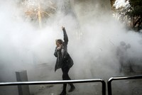 Iranian policeman killed, three wounded as protester opens fire, spokesman says