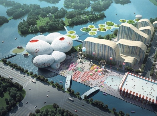 Comic Museum, Hangzhou, China MVRDV, 2011-2015