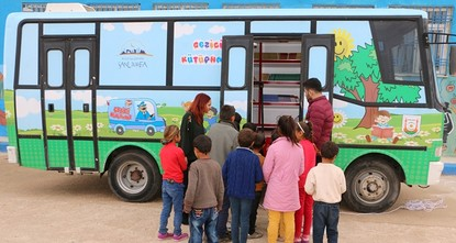 pA rural district in Turkish capital Ankara will turn outdated buses into mobile libraries with the help of students, an official said./p  pThe students, who are also members of the Youth Council...