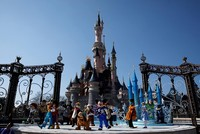 Visitors mistake loud noises for gunfire at Disneyland, prompting stampede