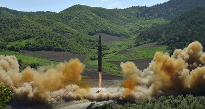 pSpeculation intensified Tuesday that North Korea is preparing another missile launch to coincide with a military anniversary, just weeks after conducting its first successful test of an ICBM that...