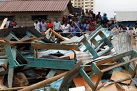 7 children killed, 10 trapped as school collapses in Kenya's capital
