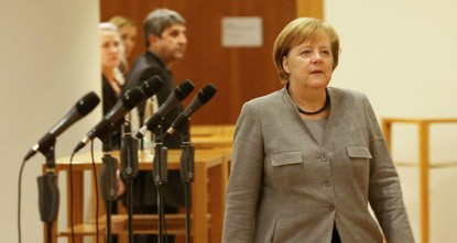 pGerman Chancellor Angela Merkel's failure to forge a three-way coalition government has plunged Europe's largest economy into uncharted waters, raising pressure on the three-term conservative...