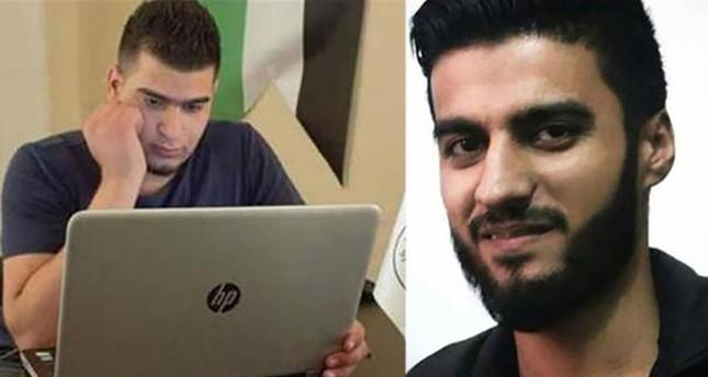 المغدوران إبراهيم عبد القادر وفارس حمادي (DHA)