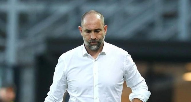 Igor Tudor reacts during the Italian Serie A soccer match between Atalanta Bergamo and Udinese Calcio, Bergamo, Oct. 27, 2019.  (EPA Photo)