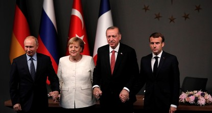 Four-nation summit on Syria ends in Istanbul