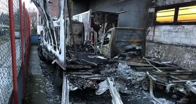 Berlin-Neukölln: Mutmaßlicher Brandanschlag auf türkische Möbelkette