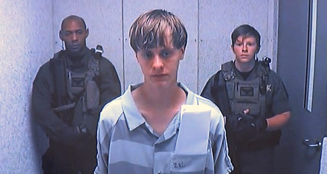 Dylann Roof appears via video before a judge, in Charleston, S.C., Friday, June 19, 2015. (Centralized Bond Hearing Court via AP)
