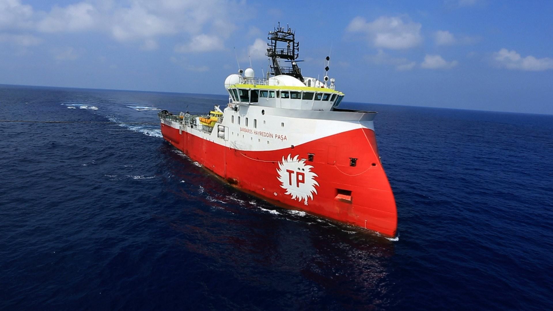 Turkeyu2019s first seismic vessel, the Barbaros Hayreddin Pau015fa has been conducting exploration operations in the Mediterranean since April 2017.