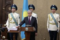 New Kazakhstan president sworn in, parliament renames capital in honor of Nazarbayev