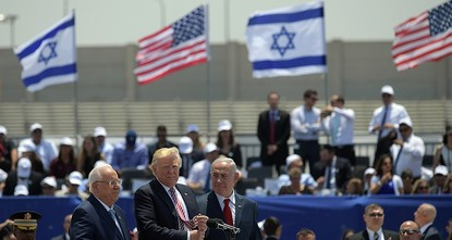 pU.S. President Donald Trump spoke of a rare opportunity to bring stability to the region as he landed in Israel on Monday to seek ways to restart Israeli-Palestinian peace efforts./p  pTrump...