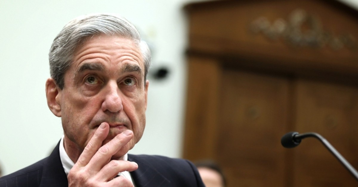 In this file photo taken on June 12, 2013, then Federal Bureau of Investigation Director Robert Mueller testifies during a hearing before the House Judiciary Committee on Capitol Hill in Washington, DC. (AFP Photo)
