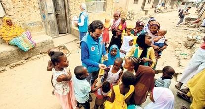 وقف الديانة التركي يفتتح 15 بئر مياه في النيجر