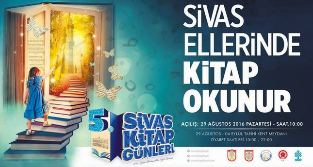 Bookworms gather at Sivas Book Days
