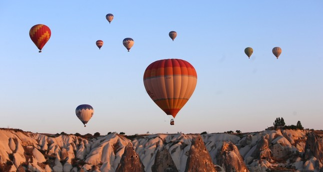 The Cappadocia International Hot Air Balloon Festival to host balloons from 11 countries.